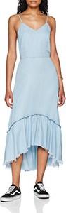 Błękitna sukienka Only