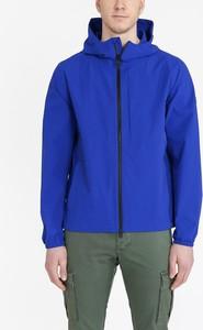 Niebieska kurtka Woolrich krótka