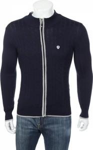 Granatowy sweter Giorgio Di Mare