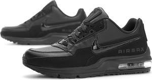 Czarne buty sportowe Nike sznurowane ze skóry