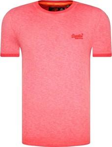 T-shirt Superdry w stylu casual