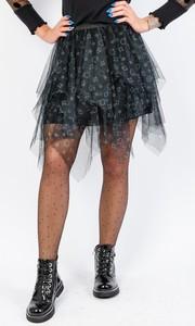 Czarna spódnica Olika mini w stylu casual