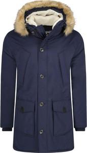 Niebieska kurtka Superdry w stylu casual