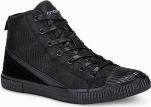 Ombre Trampki męskie sneakersy T350 - czarne