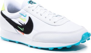 Buty sportowe Nike z płaską podeszwą ze skóry ekologicznej