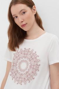 T-shirt Sinsay z nadrukiem