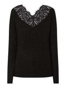 Czarny sweter Vero Moda z wełny