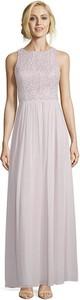 Sukienka Vera Mont z okrągłym dekoltem maxi
