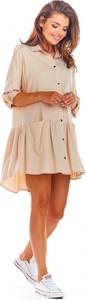 Sukienka Awama w stylu casual mini