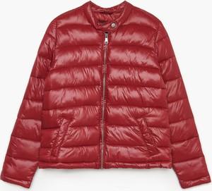 Czerwona kurtka Cropp bez kaptura krótka