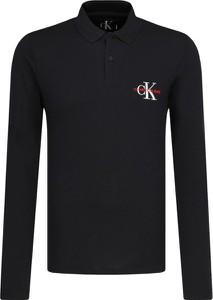 Koszulka z długim rękawem Calvin Klein z długim rękawem w stylu casual z bawełny