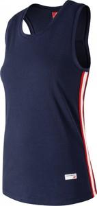 Bluzka New Balance w stylu casual z bawełny bez rękawów