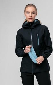 Czarna kurtka 4F z plaru krótka