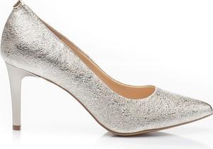 28040eec srebrne szpilki ślubne - stylowo i modnie z Allani