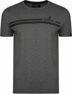 T-shirt Kangol z bawełny z krótkim rękawem