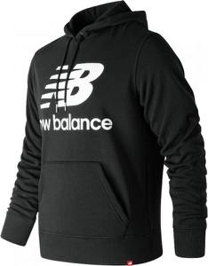 Czarna bluza New Balance z bawełny