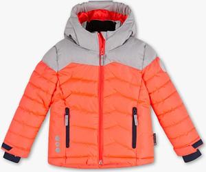 Pomarańczowa kurtka dziecięca Rodeo z plaru