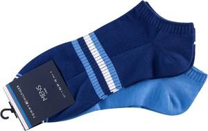 Niebieskie skarpety Tommy Hilfiger
