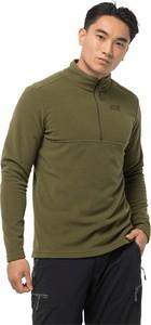 Zielona bluza Autoryzowany Sklep Jack Wolfskin z plaru