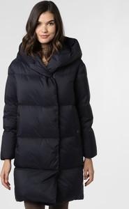Granatowy płaszcz Hugo Boss w stylu casual