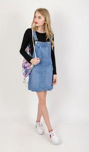 Spódnica Olika z jeansu w street stylu