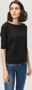 Bluzka FEMESTAGE Eva Minge w stylu casual z bawełny z krótkim rękawem