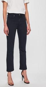 Granatowe jeansy Tommy Hilfiger w street stylu z bawełny