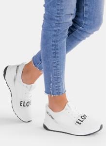 Deezee białe buty sportowe elove