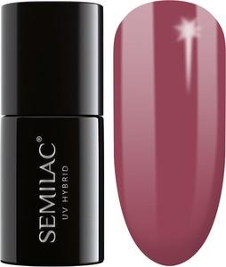 Semilac, lakier hybrydowy 005 berry nude