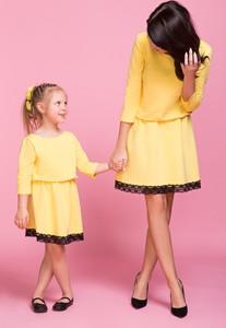 Żółta sukienka sukienki.pl