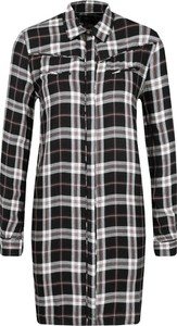 Sukienka Pepe Jeans mini w stylu casual koszulowa