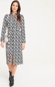 Sukienka Heine z tkaniny midi w stylu casual