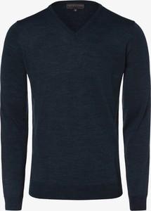 Czarny sweter Finshley & Harding z wełny