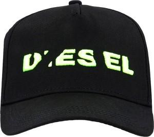 Czarna czapka Diesel