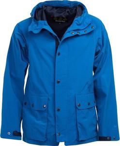 Niebieska kurtka Barbour krótka
