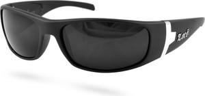 Czarne matowe okulary przeciwsłoneczne LOCS