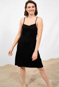 Czarna sukienka ORSAY na ramiączkach mini