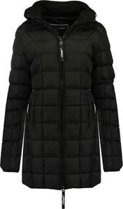 Czarny płaszcz Canadian Peak w stylu casual
