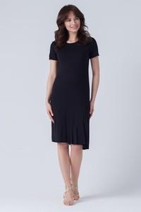 Sukienka butik-choice.pl midi z okrągłym dekoltem