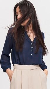Granatowa bluzka Reserved
