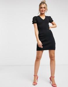 Czarna sukienka Morgan bandażowa