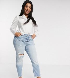 Jeansy River Island Plus z jeansu w street stylu