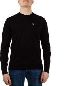 Sweter Emporio Armani w stylu casual z okrągłym dekoltem