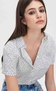 Koszula Cropp z krótkim rękawem w stylu klasycznym