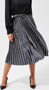 Granatowa spódnica Moodo midi