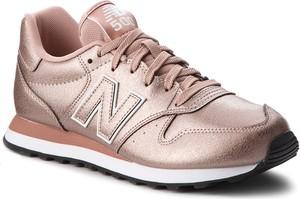 Różowe buty sportowe New Balance