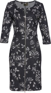 Sukienka bonprix bpc selection premium dopasowana na co dzień