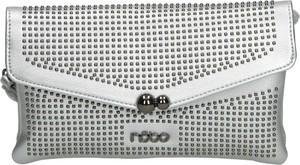 Srebrna torebka NOBO w młodzieżowym stylu do ręki mała