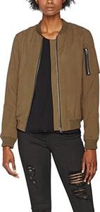 Brązowa kurtka amazon.de w stylu casual krótka