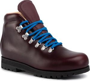 Buty zimowe Merrell sznurowane ze skóry